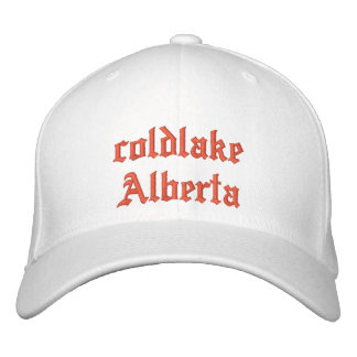 coldlake Alberta Hat Embroidered Baseball Caps