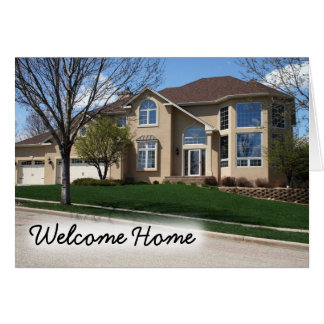 Coldwell Banker Notecard: Welcome Home Card