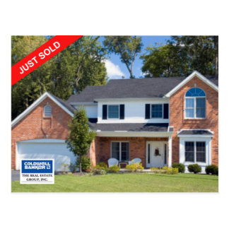 Coldwell Banker Postcard: JUST SOLD Postcard