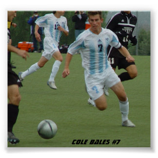 Cole Bales #7 Poster