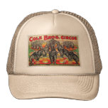 Cole Bros. Circus Hats