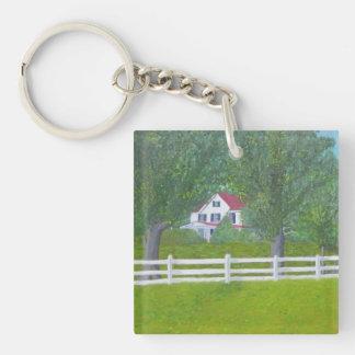 Cole Farm House - Purcellville, VA Keychain