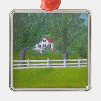Cole Farm House - Purcellville, VA Metal Ornament