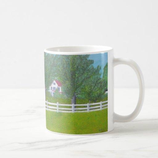 Cole Farm House - Purcellville, VA Mugs