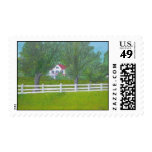 Cole Farm House - Purcellville, VA Postage Stamps