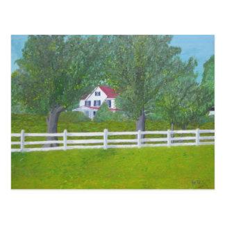 Cole Farm House - Purcellville, VA Postcard