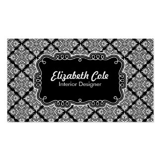 Cole - Formal Double-Sided Standard Business Cards (Pack Of 100)