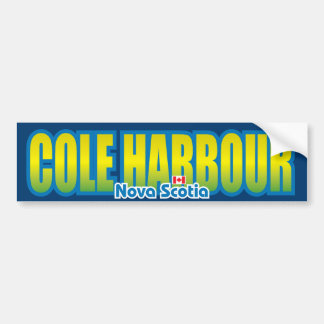 Cole Harbour Bumper Bumper Sticker