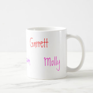 Cole, Loanh, Garrett, Ellie, Waylon, Molly Coffee Mugs