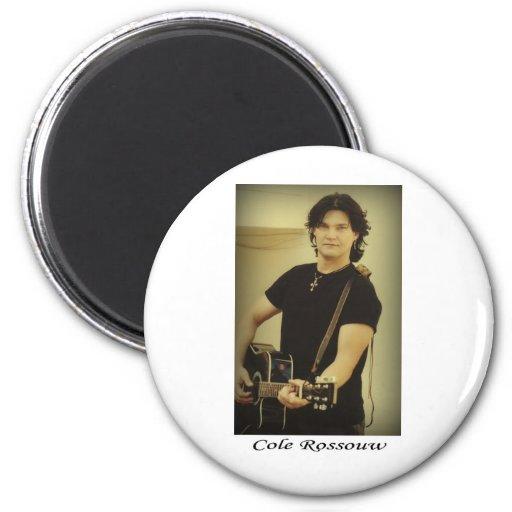 Cole Rossouw - Singer Songwriter Fridge Magnet