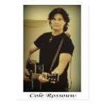 Cole Rossouw - Singer Songwriter Postcard
