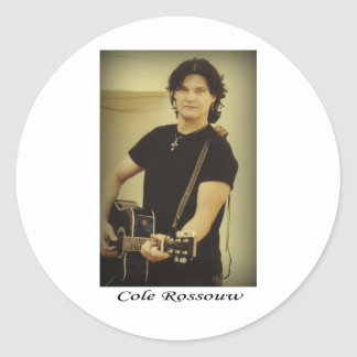 Cole Rossouw - Singer Songwriter Stickers