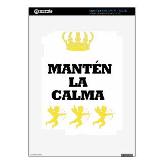 """Coleção """"MANTÉN the CALM and enamors""""/MigMich_ to  Decals For iPad 3"""