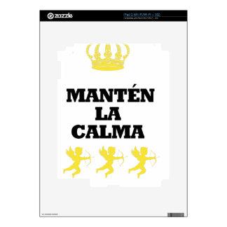 """Coleção """"MANTÉN the CALM and enamors""""/MigMich_ to  Skins For iPad 2"""
