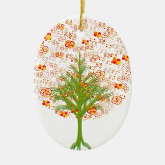 Coleção Twelve Árvore/MigMich_ScZ Ceramic Ornament