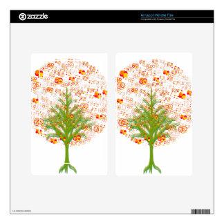 Coleção Twelve Árvore/MigMich_ScZ Kindle Fire Decal