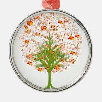 Coleção Twelve Árvore/MigMich_ScZ Metal Ornament