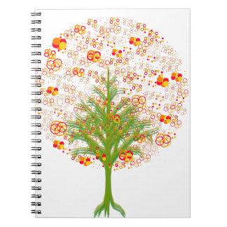 Coleção Twelve Árvore/MigMich_ScZ Spiral Note Books