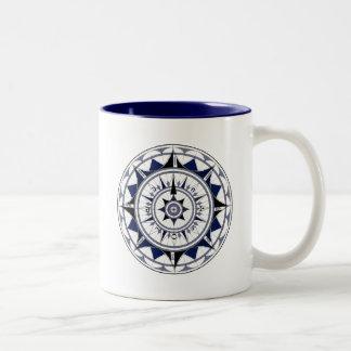 Colecção Rosa dos Ventos Two-Tone Coffee Mug