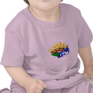 Colección 1 del delfín camisetas
