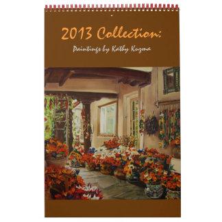 Colección 2013 calendarios de pared