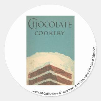 Colección 2 de la cocina de McIntosh Pegatina Redonda
