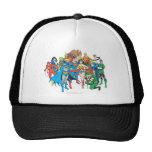 Colección 2 de los superpoderes gorras