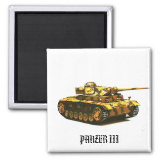 Colección #4 del imán del tanque de PANZER III