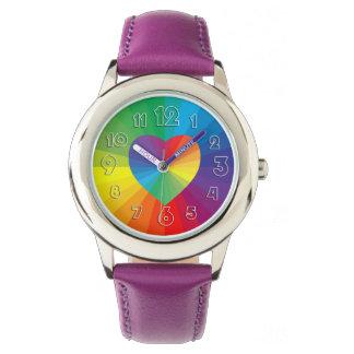 Colección adaptable del espectro relojes de pulsera