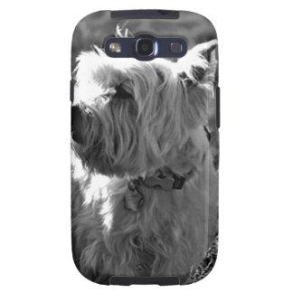 Colección adorable de Westie Terrier Galaxy S3 Protector