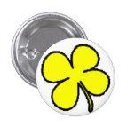 Colección amarilla del trébol de Tink Pin