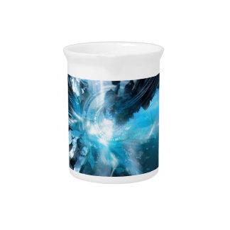 Colección azul del diseño