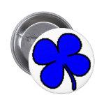 Colección azul del trébol de Tink Pin