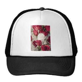 colección blanca de 12 del rojo 1 capullos de rosa gorro de camionero