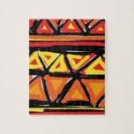 Colección caliente de los triángulos rompecabezas con fotos