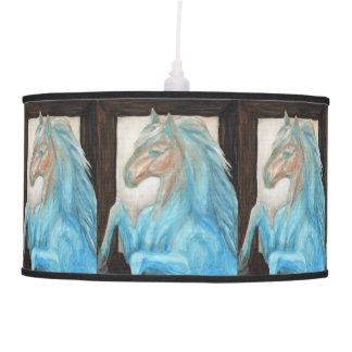 Colección caliente y fresca del caballo lámpara de techo