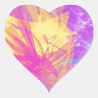 ¡Colección colorida a estrenar! Pegatina En Forma De Corazón