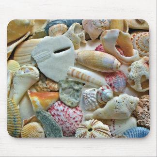 Colección colorida de Shell Mouse Pad