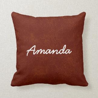 Colección conocida de encargo del regalo de AMANDA Almohadas
