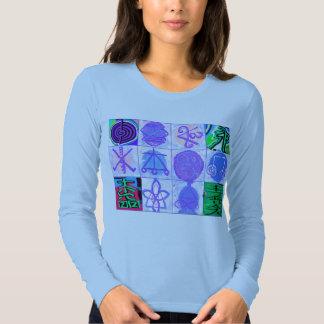 Colección curativa del símbolo de Reiki Karuna Camisas