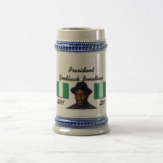 Colección de Africankoko Goodluck Jonatán Taza De Café