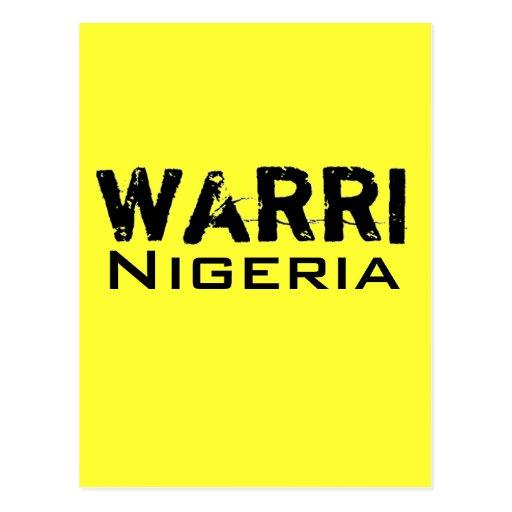 Colección de Africankoko (Warri) Postales