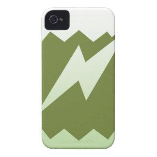 Colección de aligeramiento de las huelgas iPhone 4 protectores