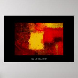 Colección de arte de Hizli - ABS moderno amarillo