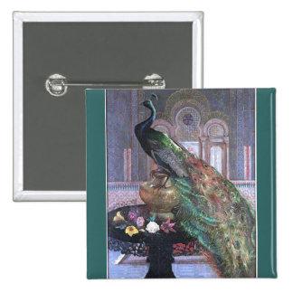 Colección de arte del vintage pin cuadrado