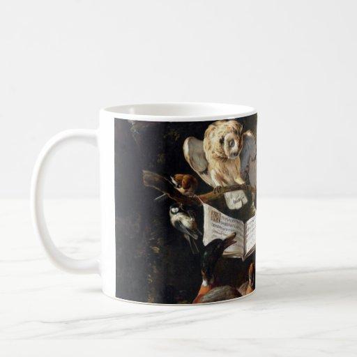 Colección de arte del vintage tazas de café