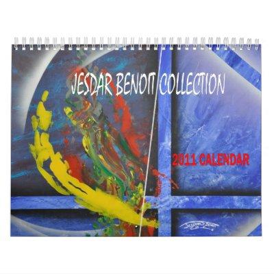 COLECCIÓN de BENOIT de JESDAR, calendario 2011