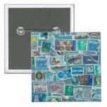 Colección de Bleu del franqueo Pin