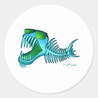 Colección de BnanneK por FishTs.com Pegatina Redonda