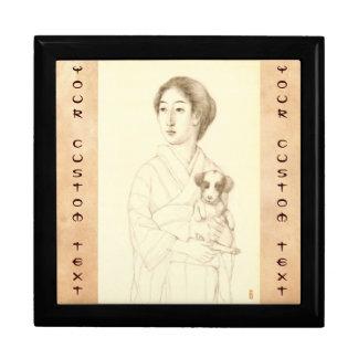 Colección de bosquejos de bellezas, arte del grafi cajas de regalo